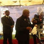 Zambia's First President Graces Rev. Antonio's Farewell Service