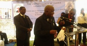 Zambia's First President Graces Rev. Antonio's Farewell Service
