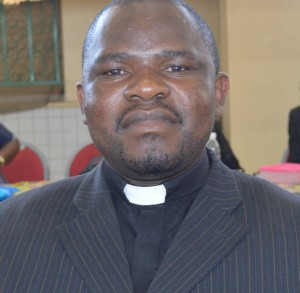 Rev. Elias Sinkala - Minister-in-charge, St. John's Congregation, Monze.